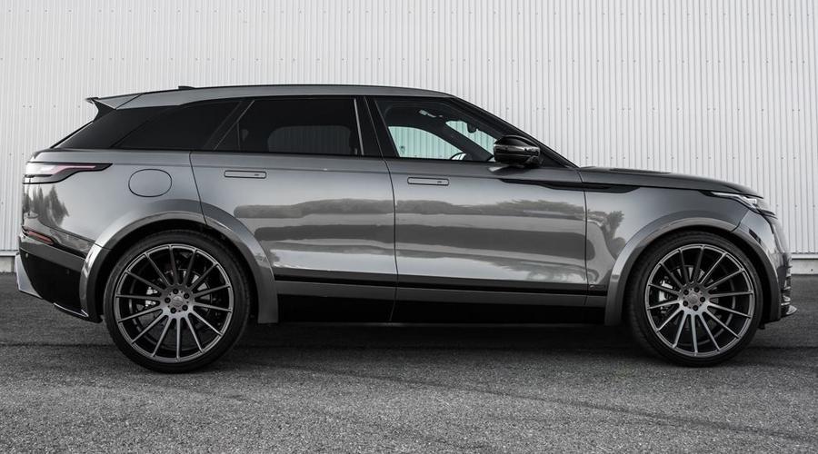 Grey Range Rover Velar